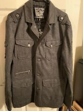 Affliction Black Premium Men's Jacket Dark Grey NWT - Size XL