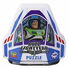 Disney Pixar Toy Story 4 Shaped Buzz Lightyear Tin with 48 Piece Surprise Puzzle