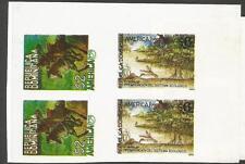 Dominican Republic SC 1167, 1214 Imperf Block of 4 MNH (4ctw)