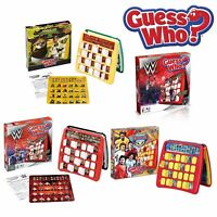 Guess Who Games - Choose favourite edition - WWA Football Stars, Kung Fu Panda