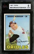 1967 TOPPS ~ #600 ~ BROOKS ROBINSON ~ BALTIMORE ORIOLES ~ HOF ~ KSA 8 NM-MT