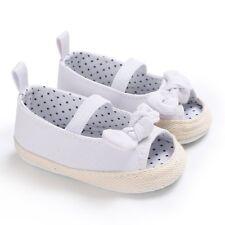 Newborn Infant Baby Girl Summer Kids Shoes Soft Sole Crib Prewalker Anti-Slip