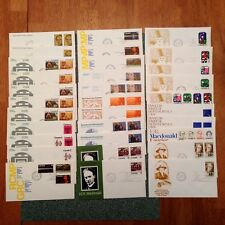 Canada Fdc 32 Different First Day 1973 Canada Post Cachets All Unaddressed |