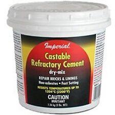 Cement Refactory 3lb Buff
