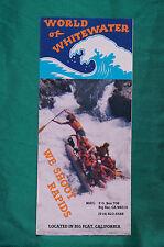 World of Whitewater - Big Flat, California - Brochure