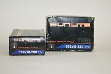 700x19-23 Bicycle Tubes (pair) Presta Valve