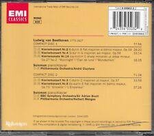2-CDs BEETHOVEN:PIANO CONCERTOS Nos.2-5/SONATA No.14 EMI 65503  unplayed NMint