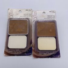2 pack CoverGirl Queen Makeup Natural Hue Compact Foundation Q520 Toffee Caramel
