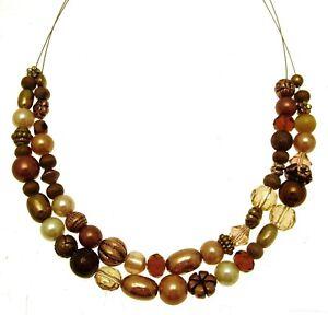 Perlen Halskette Mode Double Row Halskette 114106
