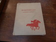 First Edition Mr Revere and I by Robert Lawson 1953
