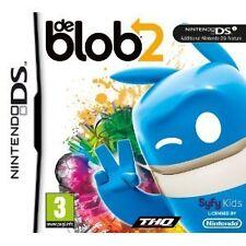 Nintendo DS NDS DSi LITE XL GIOCO DE BLOB II 2 (Giochi) nuovo