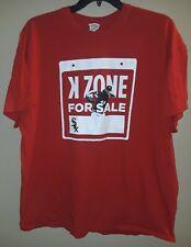 Chris Sale MLB Chicago White Sox K Zone For Sale Mens 2XL T-shirt New NWOT SGA