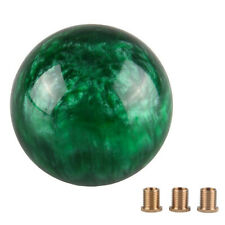 Green Nebula Cloud Round Shift Knob For Most Manual Automatic Vehicles 5 6 Speed