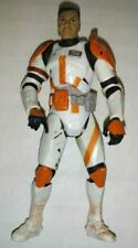 """COMMANDER CODY CLONE TROOPER STAR WARS FIGURE Action animated army builder 3.75"""""""
