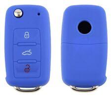 VW · SKODA · SEAT Schlüsselhülle · BLUE · BLAU · Volkswagen Silicon Key Cover