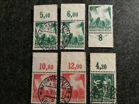 Deutsches Reich 1936 - MiNr. 622 + 632 + 633   Lot Marken