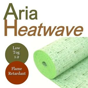 UNDERFLOOR HEATING UNDERLAY Aria Heatwave Flame Retardant