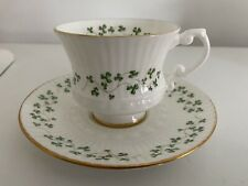 Shamrock Royal Tara demitasse fine bone china cup & Saucer Galway Ireland