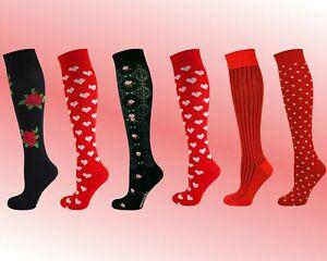 Mysocks 3 Pairs Knee High Multi Design Socks
