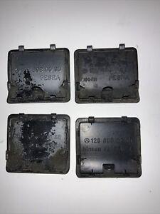 90-95 Mercedes Sl500 Sl320 Sl600 R129  Rocker Molding Jack Holes Cover Set Of 4