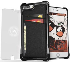 iPhone 7 Plus Wallet Case, Ghostek Exec Premium TPU Leather Credit Card Holder