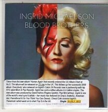 (DB507) Ingrid Michaelson, Blood Brothers - 2012 DJ CD