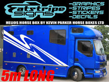 5m HORSEBOX TRAILER VAN GRAPHICS STICKERS STRIPES DECALS HORSE BOX TRANSPORTER
