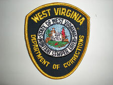 WEST VIRGINIA DEPARTMENT OF CORRECTIONS PATCH
