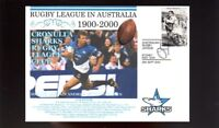 CRONULLA SHARKS 1900-2000 RUGBY COVER, ETTINGSHAUSEN