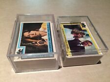 130-pc Topps 1977 Charlie's Angels Puzzle Back Trading Cards