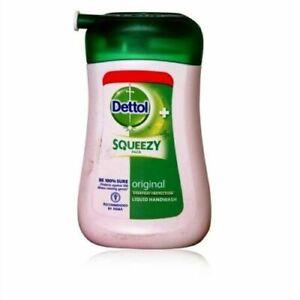Dettol Handwash Dettol Liquid Soap Pump Protects against germs-100 ML*100+Washes