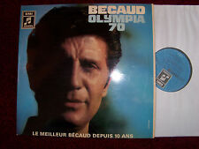Gilbert BECAUD-Olympia 70 classe Germen COLUMBIA LP