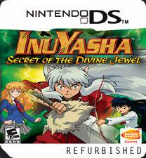 Inuyasha: Secret of the Divine Jewel Nintendo DS Replacement Label Sticker