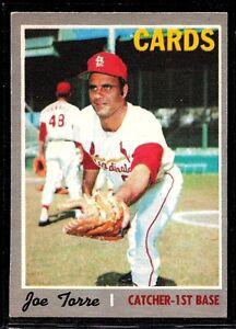 1970 O-PEE-CHEE BASEBALL CARDINALS YANKEES JOE TORRE CARD #220 EX-MT RARE LOOK!