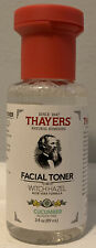 Thayers Witch Hazel Alcohol Free Toner Cucumber Travel Size 3 fl Ounce, 1 Pack