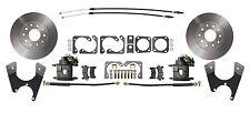 Staggered GM 10 /12 Bolt Rear End Disc Brake Conversion Kit Standard Rotors