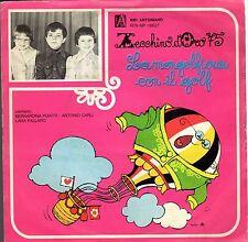 disco 45 GIRI ZECCHINO D'ORO '75 LA MONGOLFIERA CON IL GOLF - VIGILE IN GONNELLA