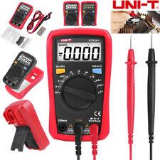 Uni T Ut33a Handheld Digital Multimeter Auto Range Ac Dc Ohm Volt Tester Meter