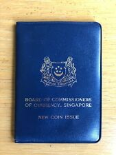 Board Of Commissioners Of Currency Singapore New Coin Issue 1968 Wallet Passport