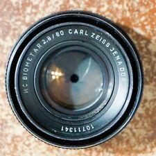 New listing Carl Zeiss Jena Ddr Mc Biometar 80mm f/2.8 Standard Lens in Pentacon Six Mount
