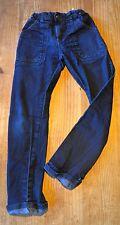 Pantalon jean enfant, bleu stone, U Coll Urban Team, 12 ans, taille ajustatable