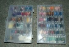 DMC Embroidery Floss 160 Cards Numbered 2 Cases Plus 18 Loose Skeins