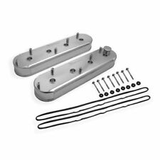 Holley 890014 Sniper Fabricated Aluminum Valve Cover Silver For GM LS Engines