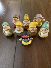 SNOW WHITE AND THE SEVEN DWARFS  FISHER PRICE LITTLE PEOPLE   8 FIGURES