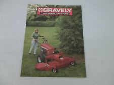 Gravely Professional 8 12 16 Two Wheel Tractors Sales Brochure