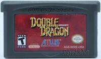 Jeu Double Dragon - Nintendo Game Boy Advance GBA SP DS Lite - Reproduction