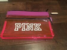 Victoria's Secret Pink Beach Swimsuit Bag NWT Pink Purple And Black spring break