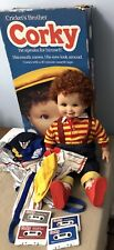 Vintage 1987 Playmates Corky Doll Cricket's Brother Original Box Tapes Outfits