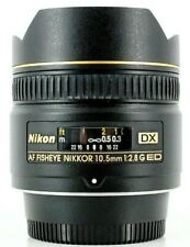 Nikon 10.5mm F/2.8 DX AF ED G Lens BOXED SUPERB CONDITION