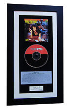 PULP FICTION Soundtrack CLASSIC CD TOP QUALITY FRAMED+EXPRESS GLOBAL SHIPPING